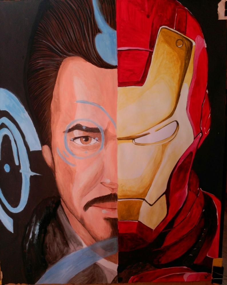 Iron Man by Erni